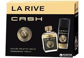 Набор для мужчин La Rive Cash туалетная вода 100 мл + дезодорант 150 мл (5906735237412)
