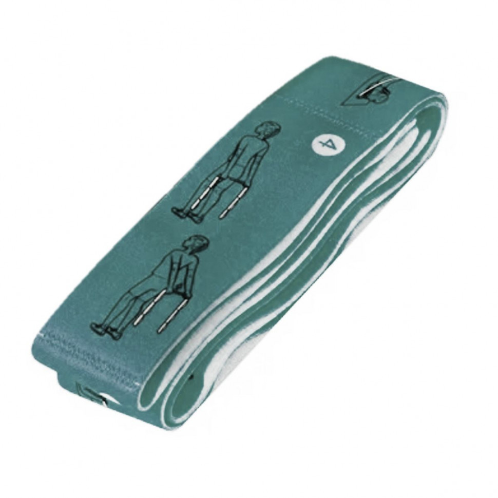 Эспандер для фитнеса Латексная петля BT-SG-0001 Бирюзовый