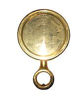 Медальон для пивной колонны круглый золото Китай