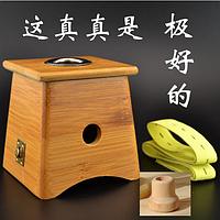 Аппарат из бамбука на одно отверстие для Мокса прижигания (для сигар) и Огнетушитель для мокс, полынных сигар