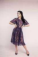 Платье нарядное плиссе
