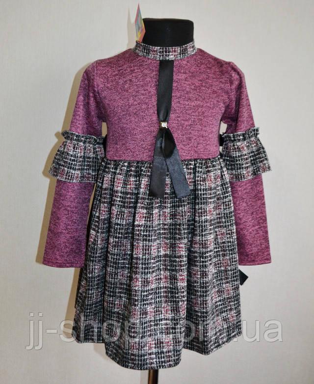 Детское повседневное платье на девочку 1 2 3 4 года