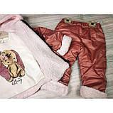 Теплый костюм для девочки Рост: 68 см, фото 3