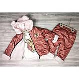 Теплый костюм для девочки Рост: 68 см, фото 5