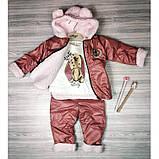 Теплый костюм для девочки Рост: 68 см, фото 6