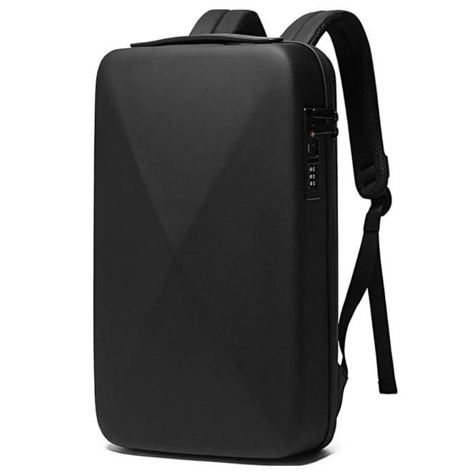 """Рюкзак -""""сейф"""" Bange BG22092 с кодовым замком TSA и пластиковым корпусом, влагозащищенный, 10л"""