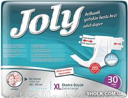 Подгузники для взрослых Joly 4 Extra Large 30 шт (8690536805198)