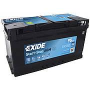 EXIDE 6СТ-95 АзЕ AGM EK950 Автомобильный аккумулятор