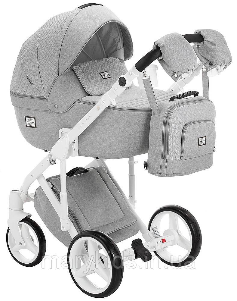 Детская универсальная коляска 2 в 1 Adamex Luciano Q388