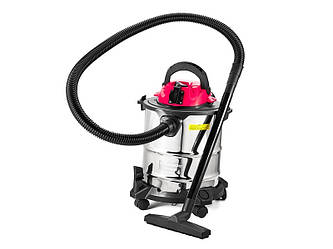Пылесос для влажной и сухой уборки (20л, 1300Вт) BauMaster VC-7220BE+Подарок!