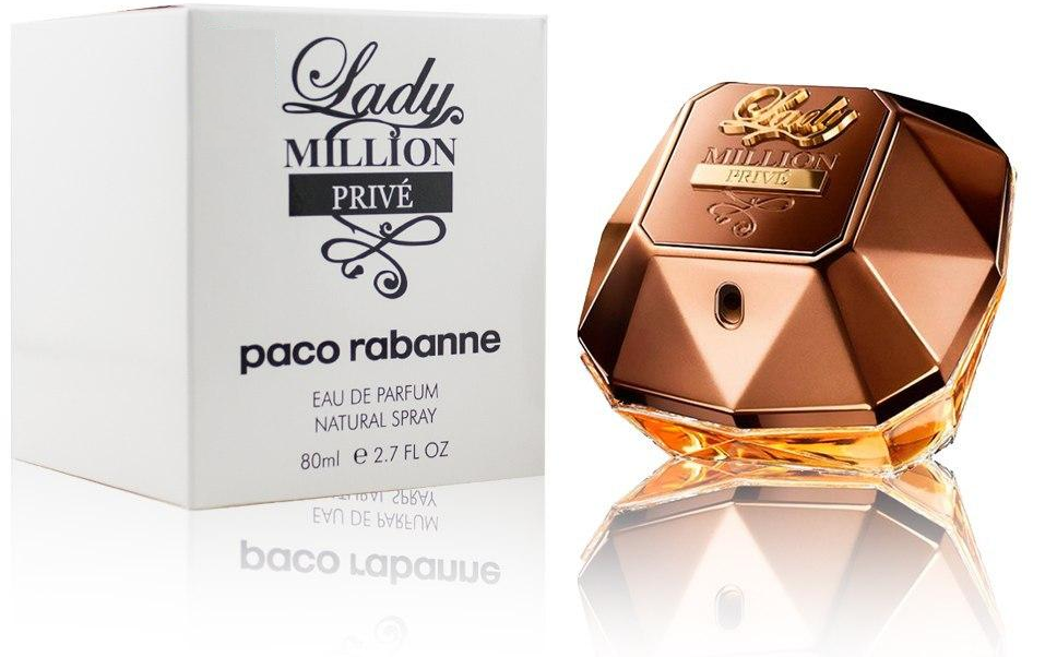 Тестер женского аромата Paco Rabanne Lady Million PRIVE ( 80 мл )