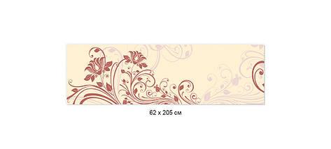 Фартук для кухни рисунок растения, завитки ПВХ панель 62 х 205 см (fl11691-5), фото 2