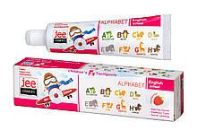 Зубная паста детская Jee 3+ со вкусом малины, Комби Джи 50 мл
