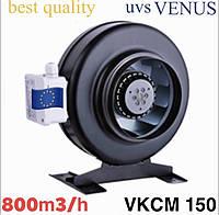 """Вентилятор канальный 150 мм центробежный  VENUS VKCM 150 (радиальный) """" сильный """""""
