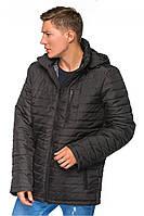"""Теплая мужская удлиненная демисезонная куртка """"Итан"""""""