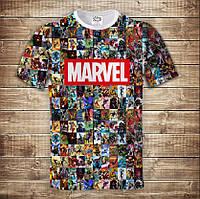 Футболка 3D Marvel, фото 1
