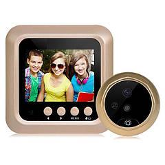 Дверний дзвінок CSmart-X5 камера 2,4-дюймовий екран HD