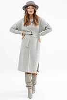 Міське зимовий сукню під пояс Розміри S M L XL, фото 2