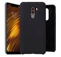 Original Silicone Case для Xiaomi Pocofone F1 Black