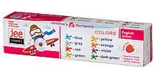 Детская зубная паста Jee 50 мл, Джи 3+ цвета