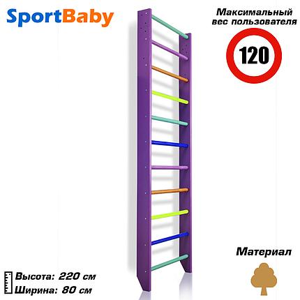 Шведская стенка для детей - 0-220 (purple), фото 2