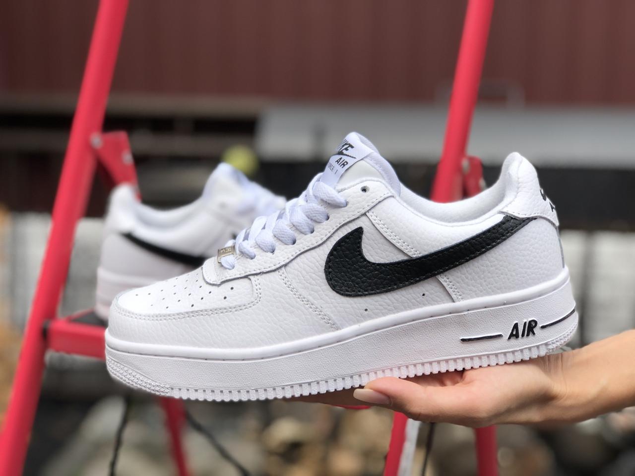 Женские зимние кроссовки Nike Air Force (белые) 9930