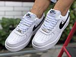 Женские зимние кроссовки Nike Air Force (белые) 9930, фото 4