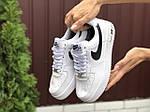 Женские зимние кроссовки Nike Air Force (белые) 9930, фото 5