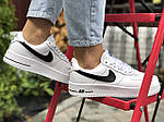 Женские зимние кроссовки Nike Air Force (белые) 9930, фото 6