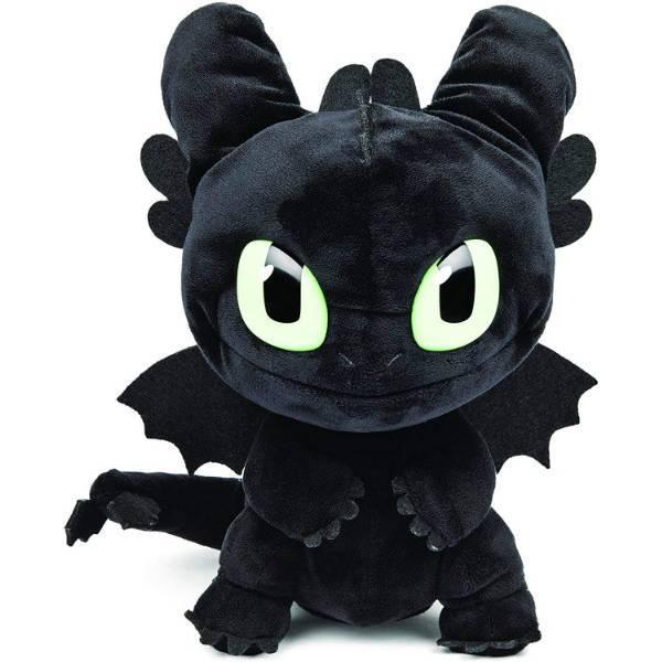 "Dreamworks Dragons как приручить дракона Мягкая игрушка Беззубик 6052481 Squeeze Roar Toothless 11"" Plush"