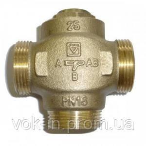 3-ходовой термический клапан Herz TEPLOMIX DN 25 (1776603) с неотключаемым байпасом, фото 2