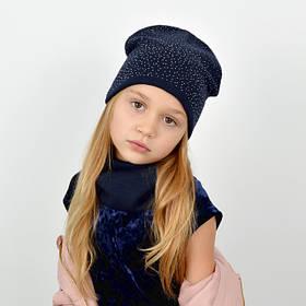 Комплект дитячий шапка і снуд Тая