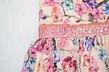 Платье цветочное р.110,116,122,140 для девочки SmileTime Connie, фото 3