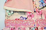 Платье цветочное р.110,116,122,140 для девочки SmileTime Connie, фото 4