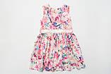 Платье цветочное р.110,116,122,140 для девочки SmileTime Connie, фото 2