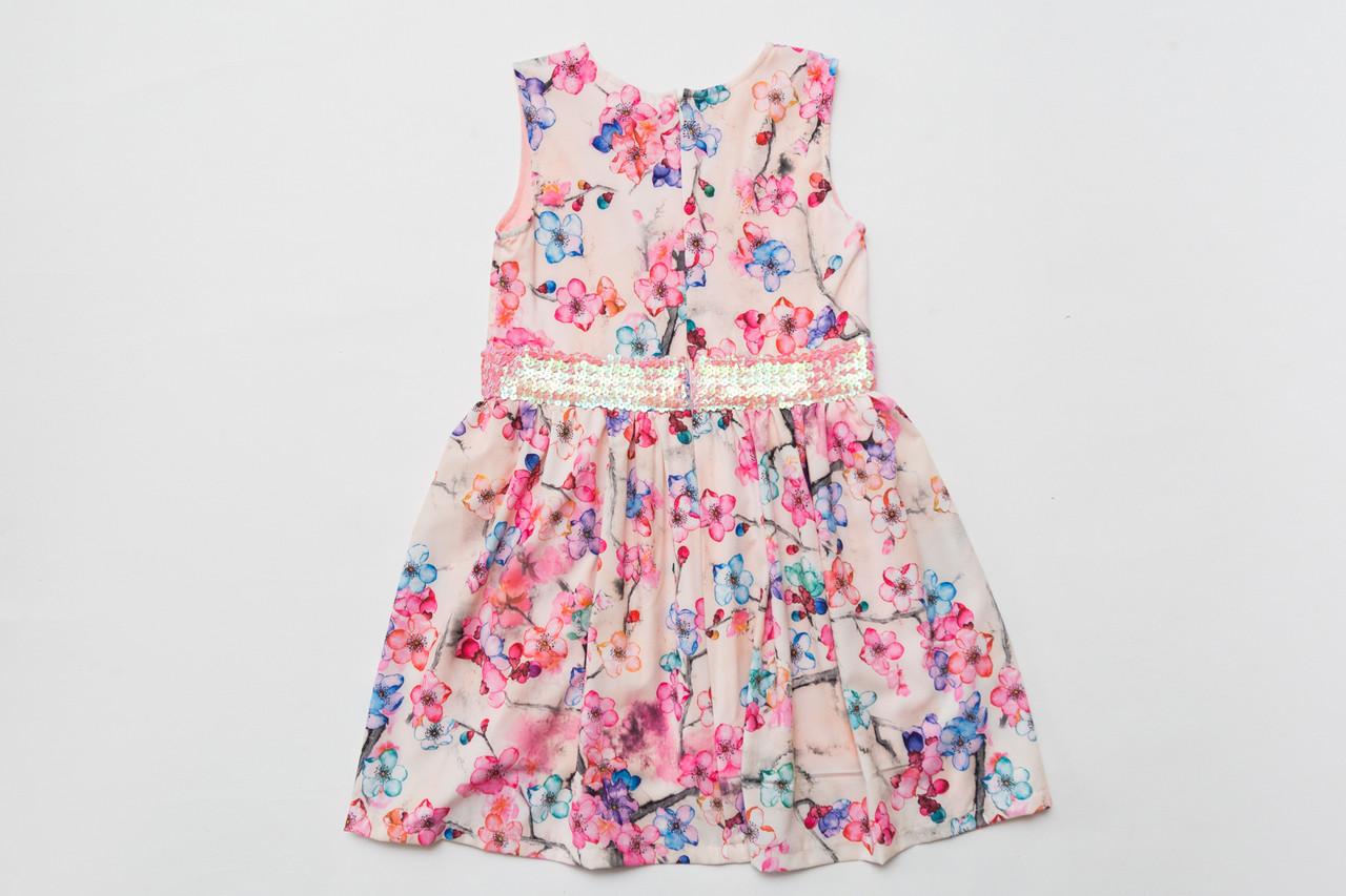 Платье цветочное р.110,116,122,140 для девочки SmileTime Connie