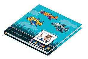 Записная книга блокнот ZiBi Airplane 135х135 мм 80 л клетка тверд.обл. (ZB.12702)