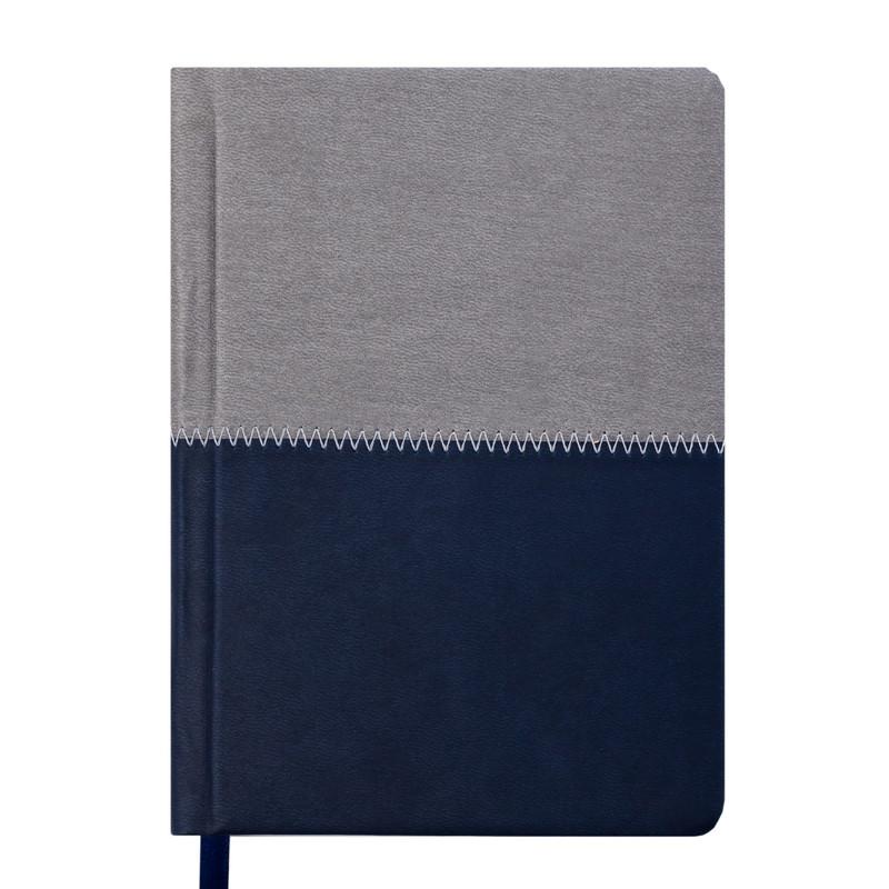 Ежедневник недатированный Buromax QUATTRO A5 синий с серым 288 стр (BM.2024-95)