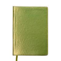 Ежедневник недатированный Buromax Metallic A5 желтый 288 стр (BM.2033-08)
