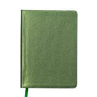 Ежедневник недатированный Buromax Metallic A5 зеленый 288 стр (BM.2033-04)