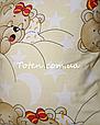 Прямоугольная подушка в детскую кроватку размер 35*45 см хлопок 100%. Подушка для коляски, люльки, дет сада, фото 5