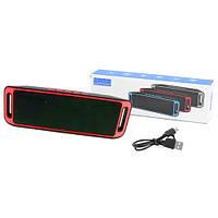 Bluetooth-колонка SC-208 c функцией speakerphone, радио, red