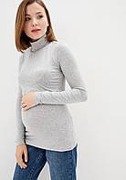 Гольф трикотажный для беременных и кормящих (серый), фото 1