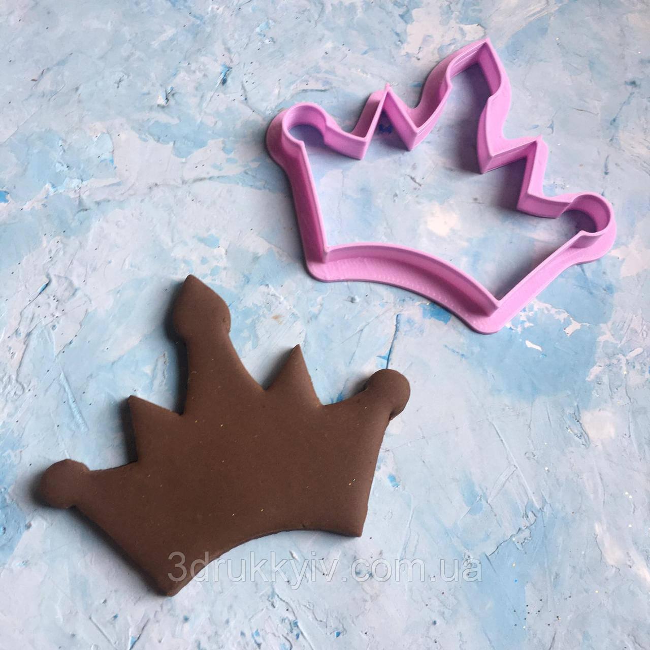 """Вирубка для пряників """"Корона #4"""" / Вырубка - формочка для пряников"""