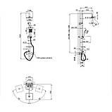 Душевая система Q-tap CRM 1005, фото 2