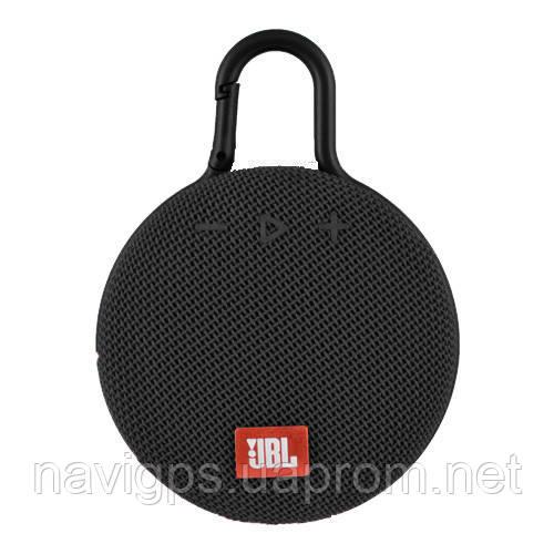 Bluetooth-колонка JBL CLIP3, c функцией speakerphone, радио, black