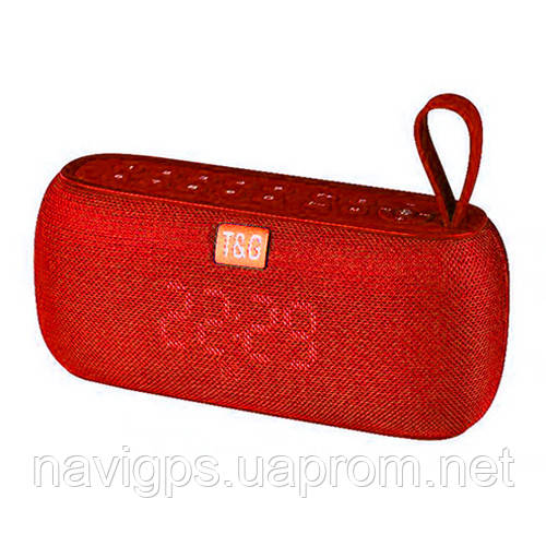 Bluetooth-колонка SPS UBL TG177, c функцией speakerphone, радио, PowerBank, часы, red