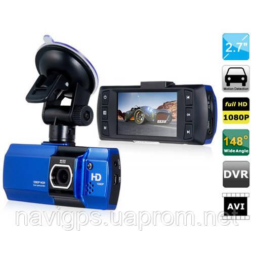 Автомобильный видеорегистратор LCD 550, 2.7'', Original, 1080P Full HD