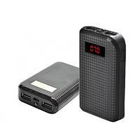 Power Bank REMAX PRODA 10000mAh 2USB(1A+2A), цифровой дисплей, фонарик 1LED -132 (3000mAh), фото 1