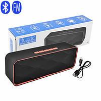 Bluetooth-колонка SC-211, c функцією speakerphone, радіо, red, фото 1